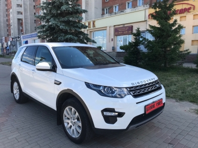 Land Rover Discovery Sport 2.2D дизель 2016 Automatic