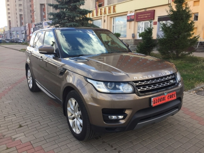 Land Rover Range Rover Sport 3.0D дизель 2014 Automatic